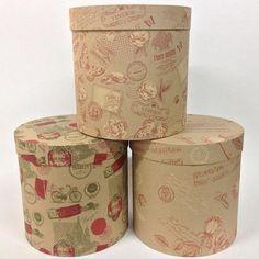 Варианты #флобокс в материале крафт | #flobox #шляпнаякоробка #круглаякоробка #упаковкадляцветов