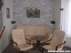 Son Model Yapay Taş Duvar Kaplamaları Love Seat, Couch, Chair, Model, Furniture, Home Decor, Settee, Sofa