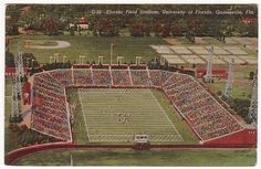 Florida Field (Now Ben Hill Griffin Stadium) where the Boys from Old Florida play.