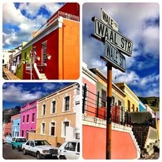 Exploring Bo Kaap in Cape Town - The Bo Kaap neighbourhood in Cape Town is a historic enclave that graces the slopes of Signal Hill. The first thing anyone will notice about this neighbourhood are the gorgeous, brightly-coloured houses lining steep cobbled streets. The second thing: the faint scent of spices such as cardamom and cloves in the air.