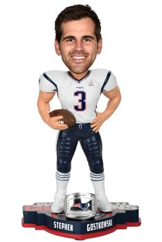 6c2c1ed04 9 Best New England Patriots Super Bowl LI Bobbleheads images ...