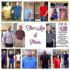 Can amen loose weight on Plexus???   Well look at the photos and you tell me!!!