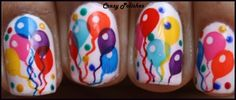 Balloons Nail Art: http://crazypolishes.blogspot.in/2012/11/notd-colorful-balloons-nails-moyou-55.html