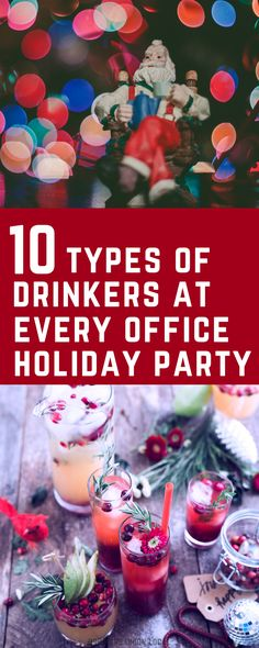 10 drinkers at every office Christmas party - funny! #funny #office