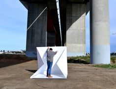 Compact Shelter is a portable dwelling boasts an innovative design that is simple to use, ...
