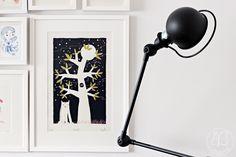 Oravanpesä Decor, Lighting, Table Lamp, Novelty Lamp, Home Decor