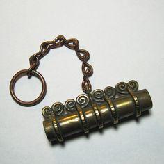 Bronze Viking needle case. $43.00, via Etsy.