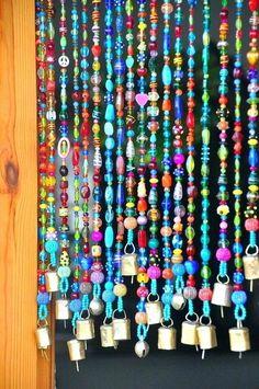Door Bead Curtains Beaded Curtain Bohemian Window Hanging Beads Wall Art A African Ar