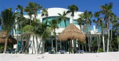 Beautiful dream home with a white sand beach, guest house, rooftop lounge and ocean views! In Tankah, Riviera Maya $1,219,000 USD