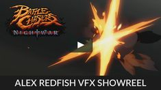 Here are some of my vfx I made for Battle Chasers: Nightwar by Airship Syndicate. Fun times with Unity.  Music: Battle Chasers: Nightwar OST - Discovery