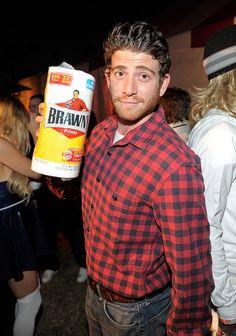 Bryan Greenberg was the Brawny man for Halloween in 2011.