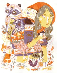 Meg Hunt ~ Love this palette
