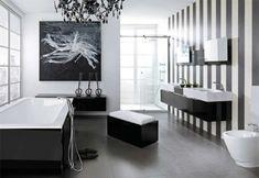 klassisches maskulines Badezimmerdesign