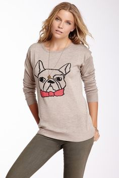 French Bulldog Sweater - Willow & Clay - want this, too! so cute