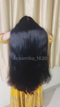 Black Hair Video, Long Hair Video, Long Black Hair, Dark Hair, Long Hair Girls, Long Hair Play, Bun Hairstyles For Long Hair, Braids For Long Hair, Indian Long Hair Braid