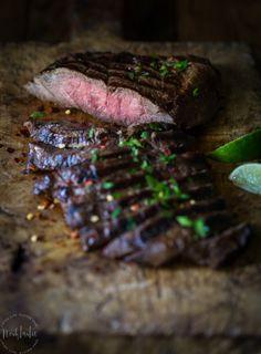 Melt in your mouth marinaded and grilled Flat Iron Steak    Mein Blog: Alles rund um die Themen Genuss & Geschmack  Kochen Backen Braten Vorspeisen Hauptgerichte und Desserts # Hashtag