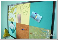 "teen bulletin boards for rooms | Pottery Barn Teen is featuring customized ""Style Tile Boards ..."
