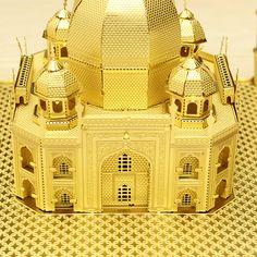 Corte Láser Piececool Taj Mahal DIY 3D Puzzle Modelos