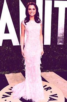 Samantha Barks at the Vanity Fair Oscar Party