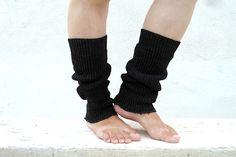 Dark Gray Leg Warmers, Knit Leg Warmers. Kids Leg Warmers on Etsy
