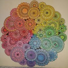 Johanna Basford   Picture by Hayley   Colouring Gallery