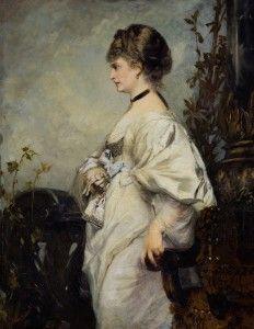 Hans Makart Portraet Magdalena Plach 1870