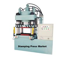A stamping press is a metalworking machine tool used to shape or cut metal by deforming it with a die. In the context of China-US trade war and global economic volatility and uncertainty, it will have a big influence on this market.