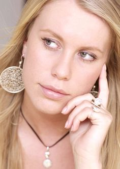 Style knitted in silver Jewellery, Drop Earrings, Crochet, Silver, Style, Fashion, Swag, Moda, Jewels