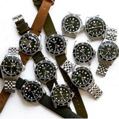 Spot the odd one out . 11x 1000 Divers by @heuer_dive #tagheuer #heuer1000 #calibre11
