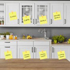 Kitchen Cabinet Layout, Kitchen Room Design, Kitchen Cabinet Organization, Kitchen Redo, Organization Hacks, Kitchen Cabinets, Organizing Tips, Cleaning Hacks, Kitchen Ideas