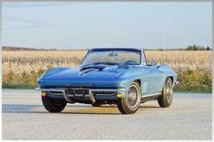 Original and Unrestored 1967 Corvette 427/435 HP Convertible #ClassicNation