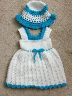 3 month girl dress with sun hat. $40