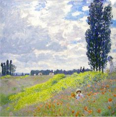Claude Monet (1840-1926), Walk In The Meadows At Argenteuil, 1873