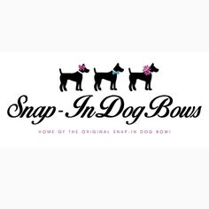 Snap-In Dog Bows for a makeover! This past weekend we got the final design for our first official logo! We couldn't be happier with how it turned out. If you're in the market for a logo or other graphics we would highly recommend RoubiDesigns on Etsy! So what do you all think?!  #snapindogbows #etsyshop #etsyseller #RoubiDesigns #dogbow #dogbows #dogbowtie #dogbowties #collaraccessories #dogcollarswag #dogaccessories #petaccessories #furbaby by snapindogbows
