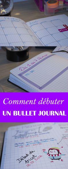 Debuter un Bullet Journal