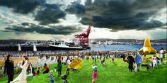 Envision a new downtown Seattle waterfront