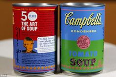 Campbell's Soup to launch limited edition Andy Warhol-inspired cans at Target on September 2nd.