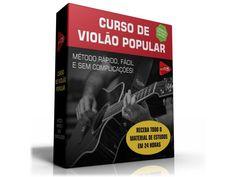 CURSO DE VIOLÃO POPULAR - Enviado Via Download Download, Popular, Books, Music Teachers, Tablature, Guitar Classes, Tips, Sheet Music, Guitar