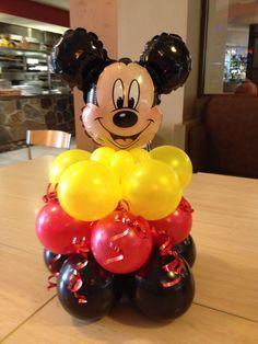 decoracion de globos de mickey mouse - Buscar con Google