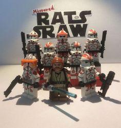 Lego Star Wars minifigure Trooper - Clone Custom General Kenobi