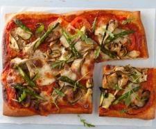 Recette Pizza maison quatre saisons par DAMARCO - recette de la catégorie Plat principal - divers