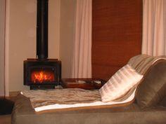 Fireplace in Honeymoon Suite