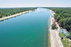 Best place to swim in Belgrade - Ada Ciganlija