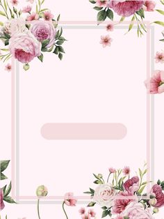 Frame Floral Fotografia Flor Background Watercolor Vector Background Hand Painted and Pink Flowers, Vector, Literature, Pink, Background Image Frame Floral, Flower Frame, Invitation Background, Flower Invitation, Watercolor Flower Background, Watercolor Flowers, Fotografia Floral, Valentines Day Background, Framing Photography