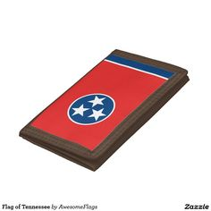 Flag of Tennessee Trifold Wallets