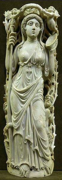 Fantastic ivory carving.