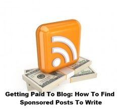 How to find sponsored posts to write on your blog. Great tips here for newbie bloggers.