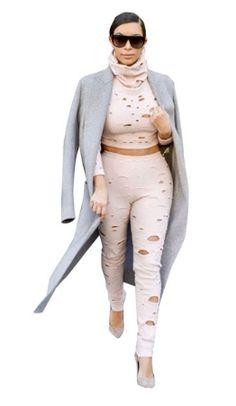 Kim rocks Chanel two piece, $45.00 by Appealing Fashion