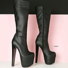 Source by westsideridaz boots Chunky Heel Platform Boots, Platform High Heels, Chunky Heels, Thigh High Boots, High Heel Boots, Heeled Boots, Shoe Boots, Nike Metcon, Buy Shoes