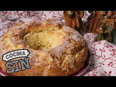 Roscón de Reyes sin gluten, sin leche, sin huevo y sin frutos secos - Cocina SIN - YouTube